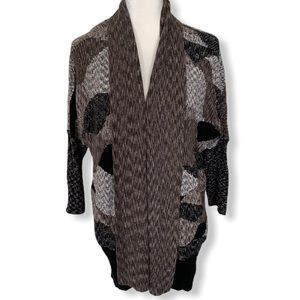 NIC+ZOE Cardigan Patchwork Shrug Sweater